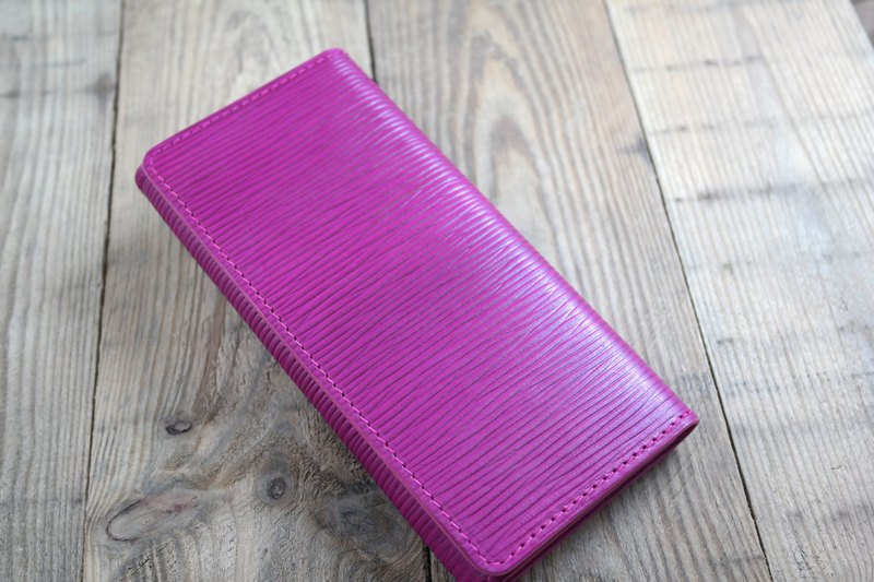 APEE leather hand ~ wallet mobile phone sets ~ strange pattern pink ~ iphone 7/8 plus