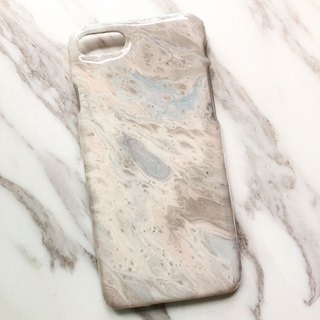 OOAK hand-painted phone case, only one available, Handmade marble IPhone case
