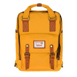 Doughnut Waterproof Macaron Backpack - Orange Fruit Yellow