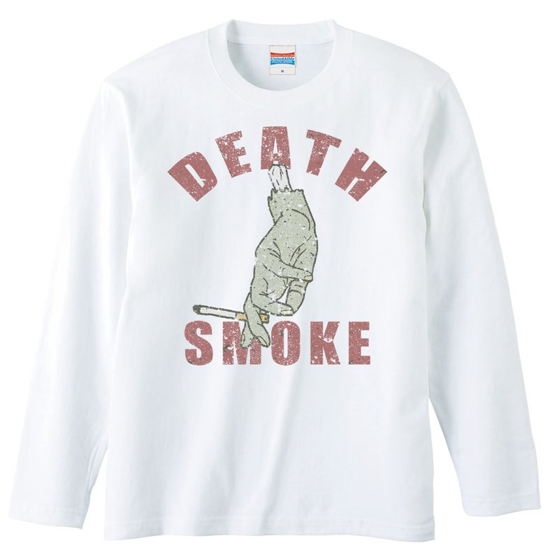 Long Sleeve T Shirt / Death Smoke