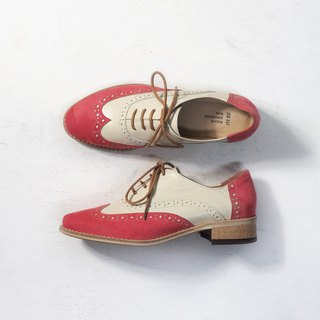 Love Flower Oxford Shoes - Sweetheart