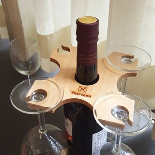 """Stone Miki Factory"" WG stand Wine cup holder"
