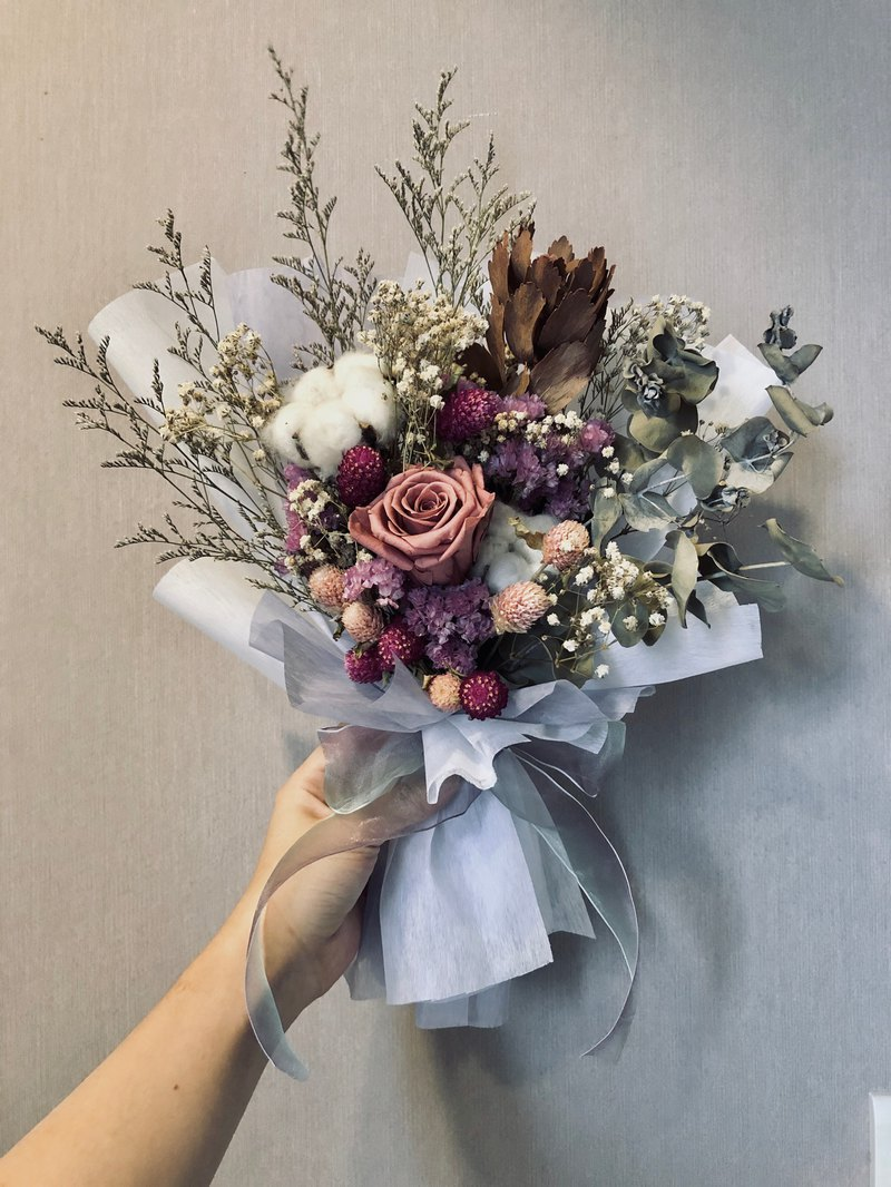 [customized dry bouquet] 20-60 cm