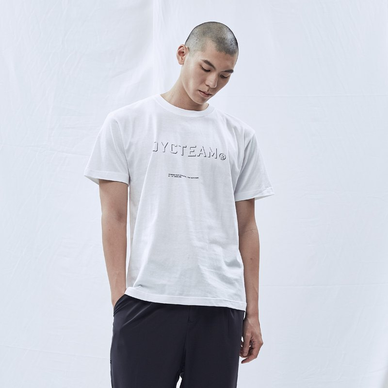 DYCTEAM Basic Series | Carve Logo Tee (WH)