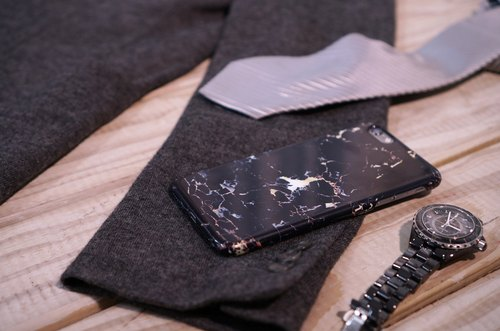 Polar marble【Black Current】Samsung Galaxy S6 phone case hard case