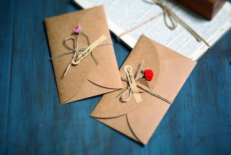 Natural Department | Kraft + Handmade Paper Universal Card / Purchased in order to purchase without retail