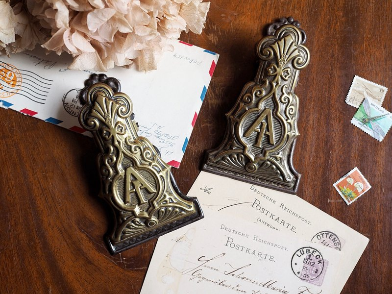 British Victorian Centennial Hand Clips for sale
