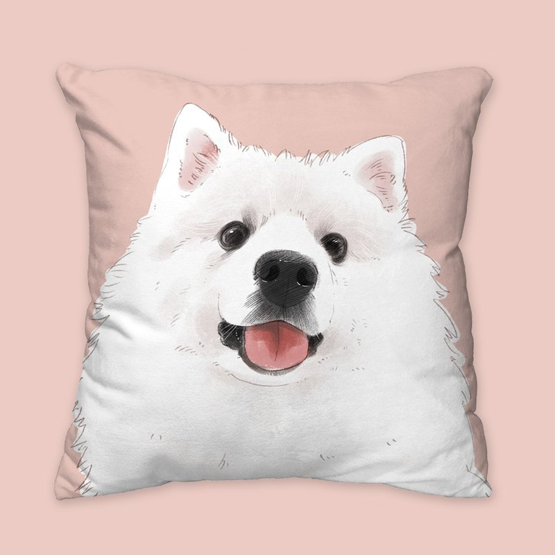 [I will love you forever] Classic fox dog dog animal pillow / pillow / cushion