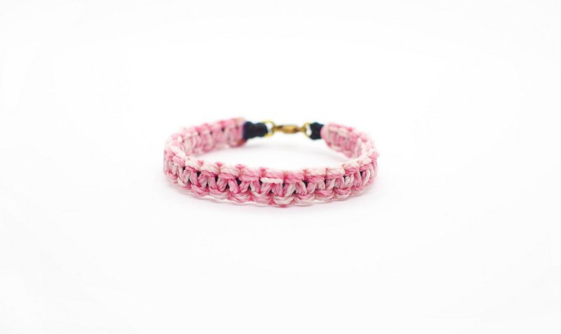 [Missing] Silk wax line brass waterproof weaving lucky hand rope