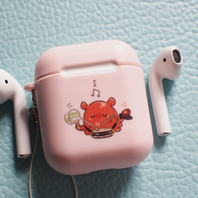 Musician octopus, AirPods case