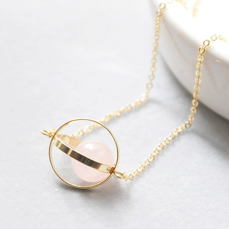 Love the planet. universe. Golden Circle. Powder crystal. Necklace Love Planet. Galaxy. Golden Ring. Rose Quartz. Necklace. birthday present. Girlfriend gift. Sister gift