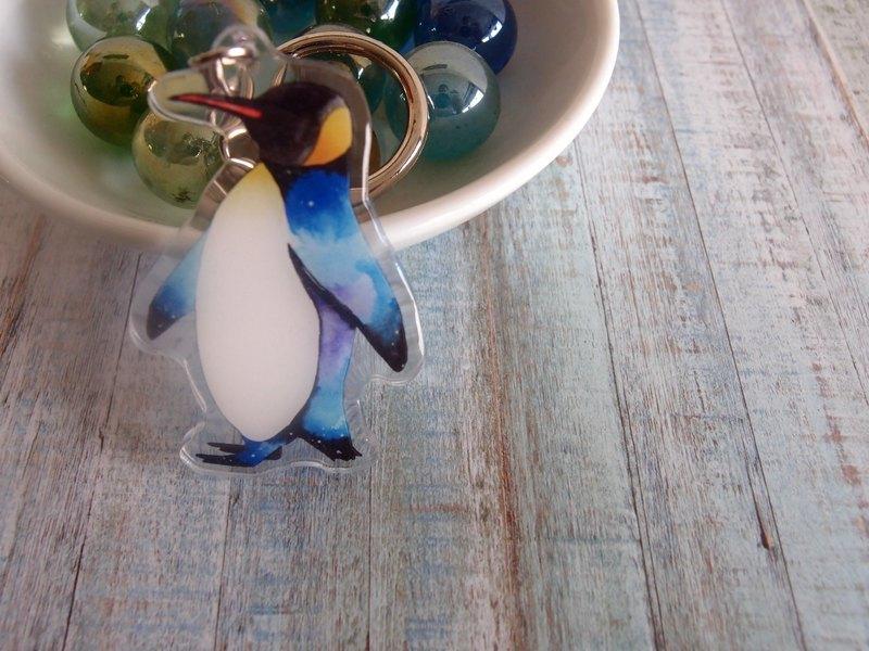 企鵝壓克力吊飾