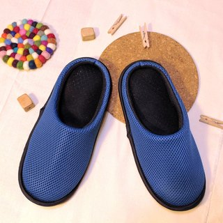 AC RABBIT function indoor air cushion slippers - all-inclusive - blue comfortable decompression original / sp-1208T-Mbu