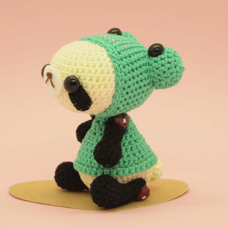 crochet doll/amigurumi/key chain/frog costume【made-to-order】