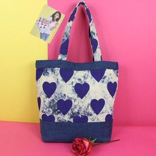 Foundest Memories Denim Tote Bag