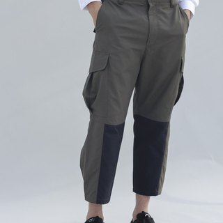 Cropped Cargo Trouser