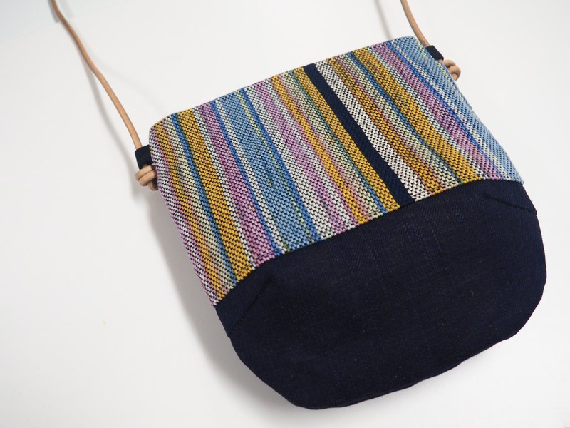 Handwoven Day Bag in Candy Color