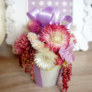 Dry flower series ~ gift shape flower ceremony / potted flower / home decoration / arrangement ~