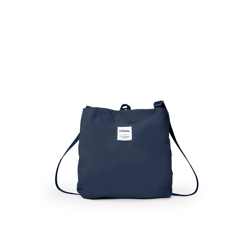 hellolulu Eilish Small Side Backpack-Grey-Blue