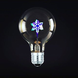 Decorative Atmosphere, Pattern Bulb, Snowflake Bulb, Good Form, Good Shape