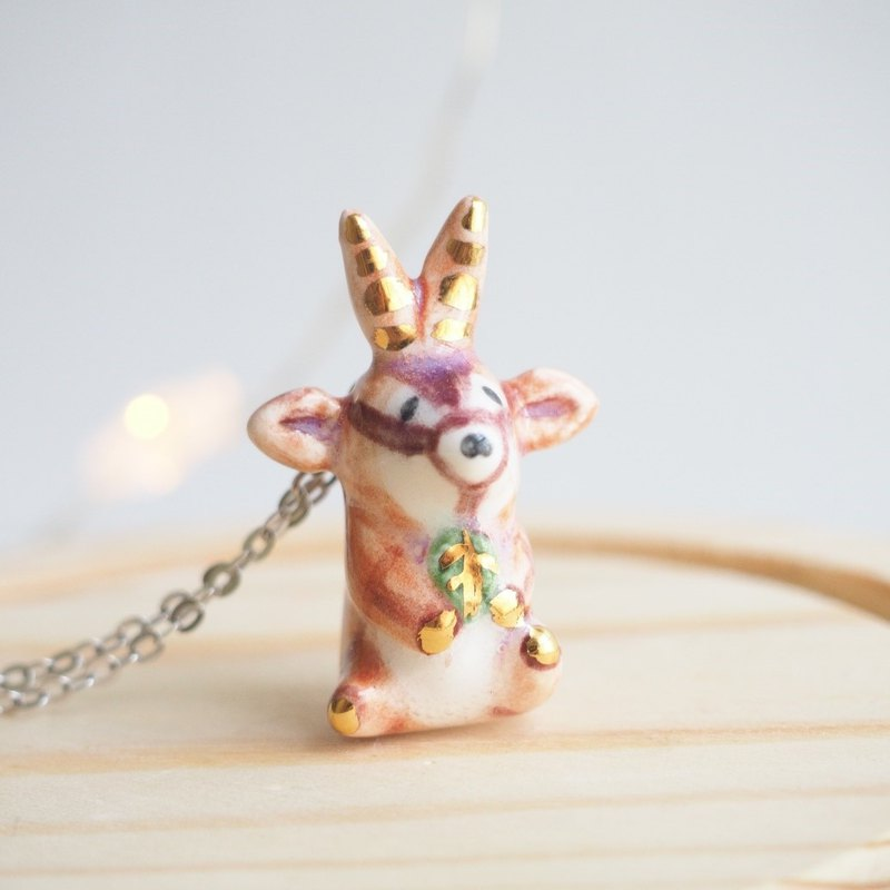 The Baby Oryx Necklace