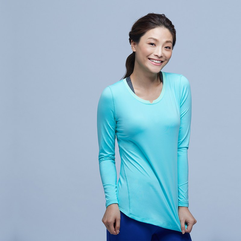 [MACACA]fit flexible long sleeve training suit - BRT3352 green