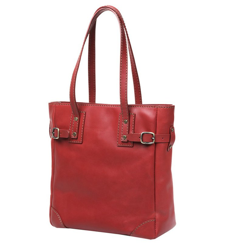 JIMMY RACING leather tote bag - red 0302135