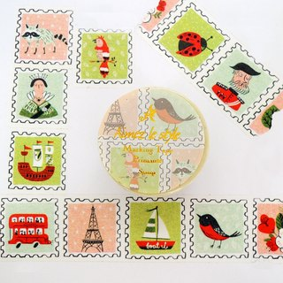 Aimez le style paper tape - Stamps <A02617>