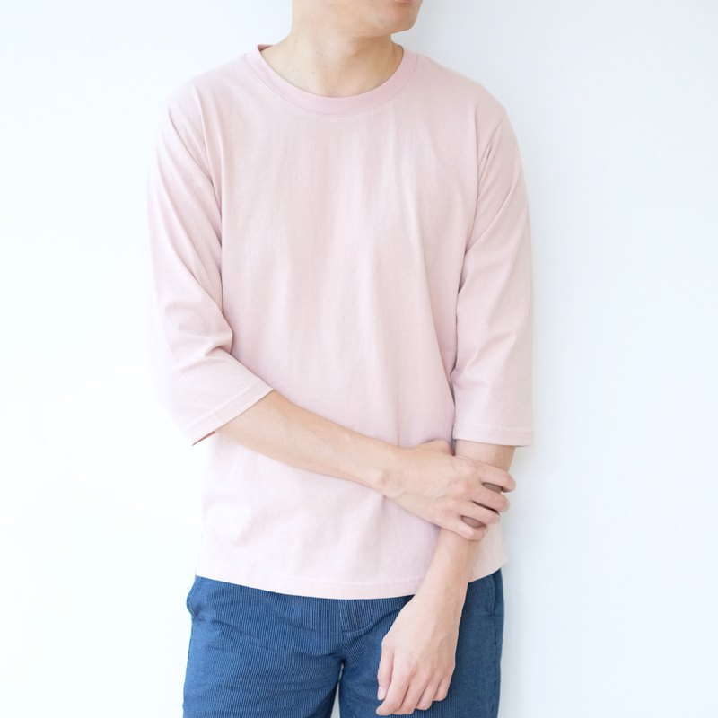 3/4 Sleeves Tee /cotton/shirt/henley/summer