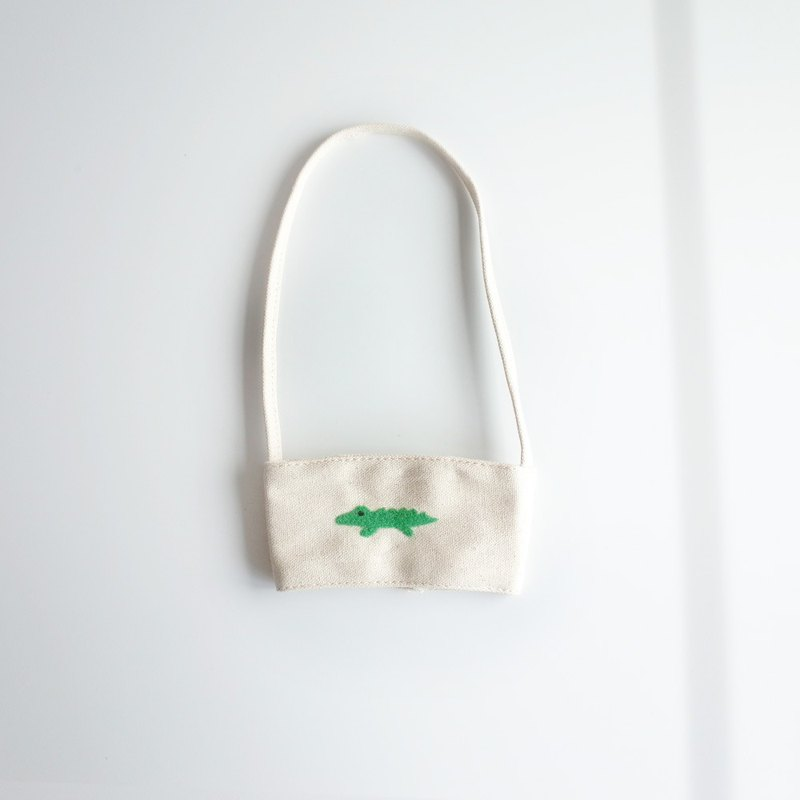 [Q-cute] hollow drink bag series - small cup crocodile