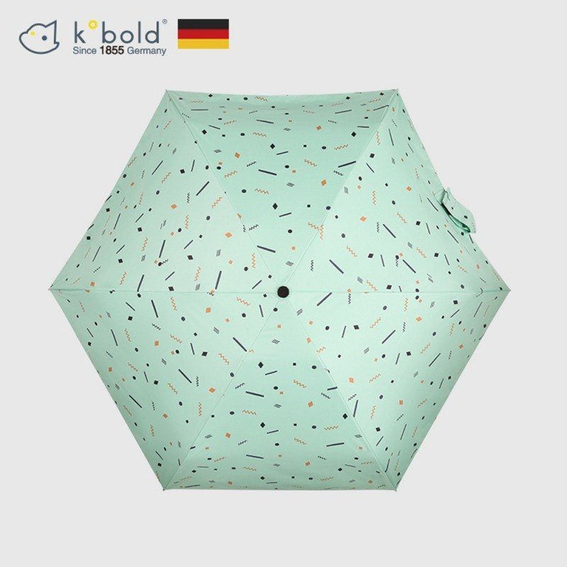 [German kobold] Mushroom Head Series - 6K Ultra-lightweight, UV Resistant, 50% Umbrella - Light Green