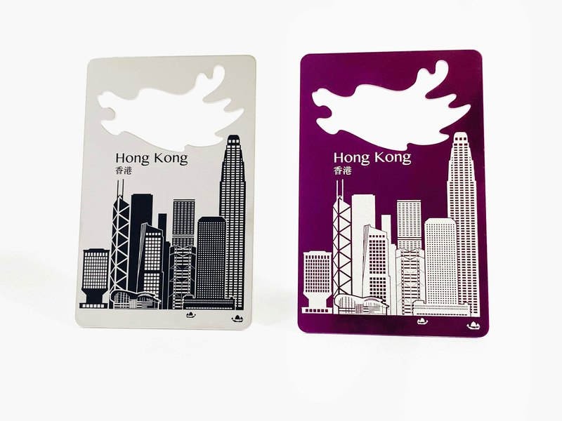 World Magnetic Bottle Opener_Hong Kong_2 colors