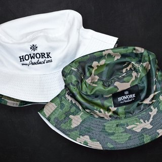 HWPD│ sided wearing camouflage hat white earth (refer to Kanye West / Yeezy / Justin Bieber)