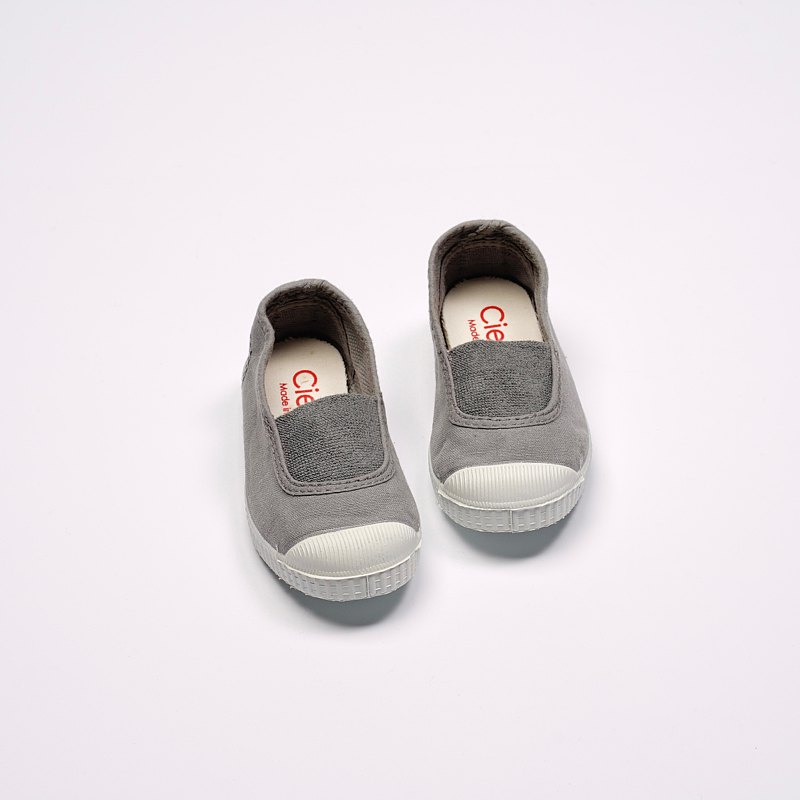 Spanish national canvas shoes CIENTA 75997 23 light gray classic fabric children's shoes