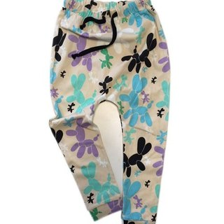 2016 spring and summer koolabah Poodle print pants pants flying squirrel