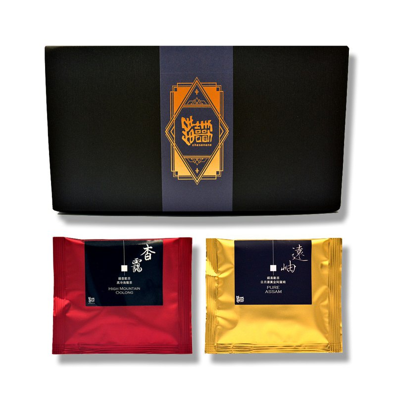 [Mistakenly Loved Tea] 杳 霭 Takayama Oolong Tea Bag 10 pcs + Far 岫 Assam Black Tea Tea Bag 10 pcs