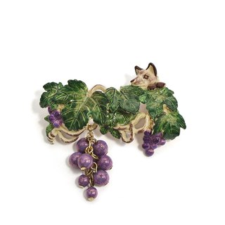 Chateau Fox Pin Brooch PB108