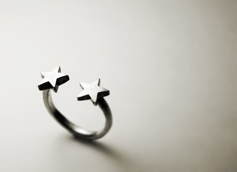 Double star opening ring