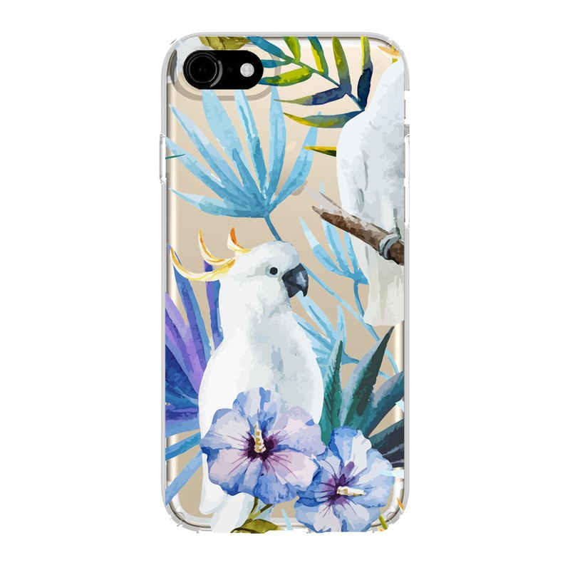 British Fashion Brand -Baker Street- iPhone Case - Parrot in the Jungle
