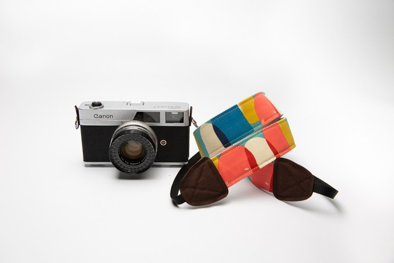 (Color palette - spring and summer) Double strap camera / camera strap / camera cord / camera / camera