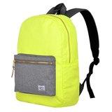 【011007-01】GMT挪威潮流品牌 撞色後背包 黃色 附15吋筆電夾層