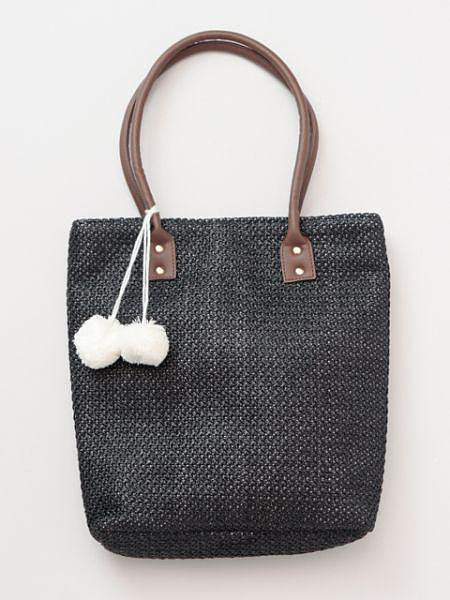 Knitted Paper Tote Bag