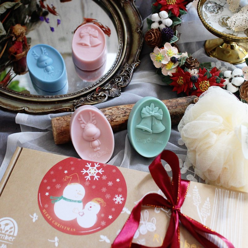 [Lai Anbai handmade soap] Elk deer. Christmas Gift │ Exchange Gift │ Handmade Soap Gift Box