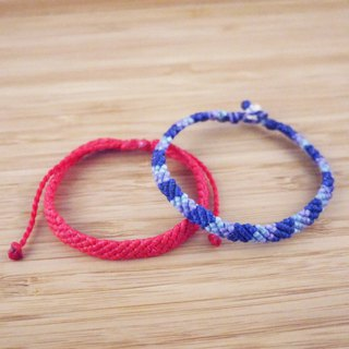[origin] silk wax line braided bracelet