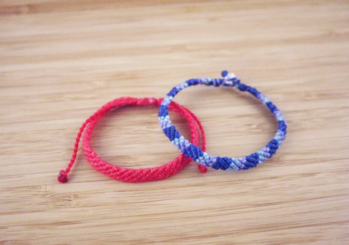【A0001】Silk wax line braided bracelet