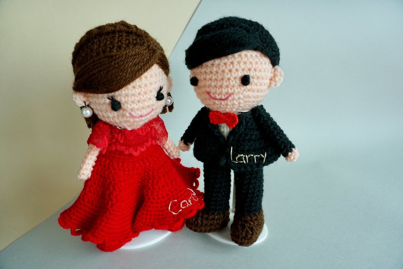 Wedding Decoration – Chinese couple wedding dolls