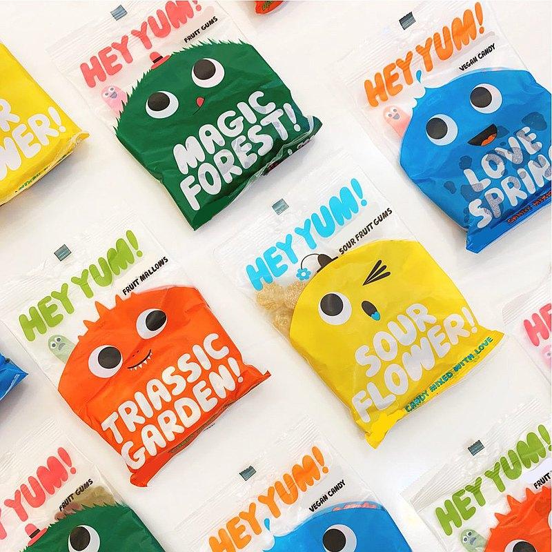 【防疫團購/免運】Hey Yum! 丹麥無麩質水果軟糖100g / 任選4包