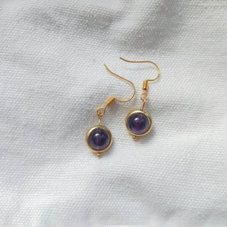 Mystery Amethyst Earrings