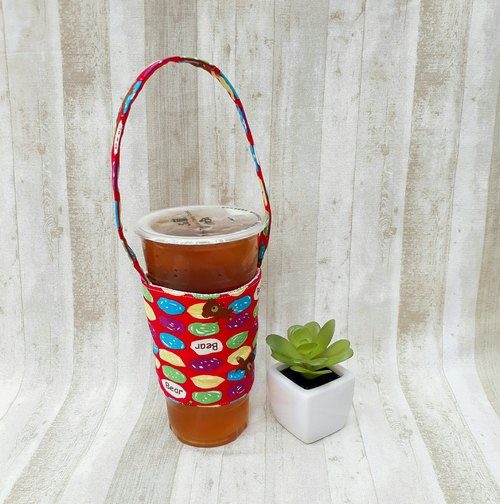 [beverage bag] candy bear <Japanese and Korean cloth>