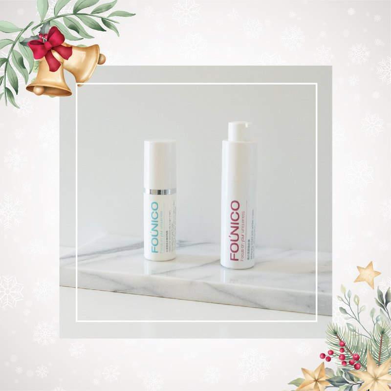 Christmas Party Group-Shuiyang Moisturizing Revitalizing Day and Night Cream + Whitening and Brightening Cream (Plain Cream)